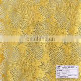 poly spandex solid lace fabric for dress