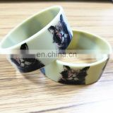 Free silicone bangles with cat picture