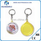 High quality Plastic Keychain With sublimation photo