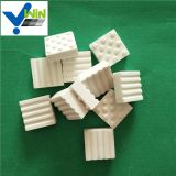Square alumina ceramic sheet/tile with bump