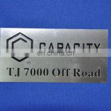 Plate custom metal logo labels for handbags