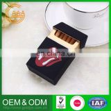 Newest Custom Logo Eco-Friendly Hot Design Nice Quality cigarette case with lighter