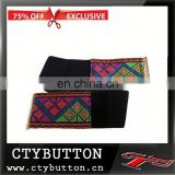 Exclusive black Retro indian beaded belts