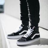 Supply Vans Sk8 Hi classic canvas men and women casual shoes multiple colors