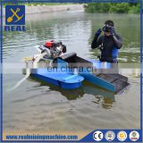 Small type mini portable gold dredger underwater mining equipment