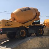 Hongyuan HY-400 self-loading concrete mixer in stock with 4M3