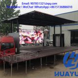 custom 9.6 m roadshow mobile stage container truck for sale