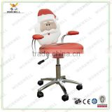 WorkWell new design santa claus shaped carton secretary chair kw-s3081