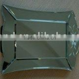 single coated aluminum mirror float glass 1mm-8mm decorative mirror/bathroom wall mirror/makeup mirror