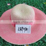 Adults Age Group and Boater Straw Hat Type wholesale straw hats