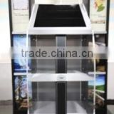 18.5 inch custom retail display stand with LCD advertising display digital signage and interactive kiosk
