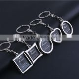Manufacturers wholesale personalized photo frame key ring Chain