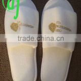 white cotton towel hotel slipper wholesale factory OEM disposable hotel slipper hotel amenities /wellness hotel/spa slipper