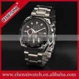 TOP-END Quality Fashion Stainless Steel Quartz Date Wrist Watch Men                                                                         Quality Choice