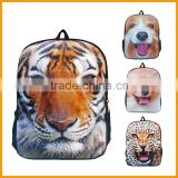 Newest Design Cheaper Cute 3D Animal Printing Backpack                                                                         Quality Choice