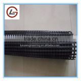 polyester geogrid for strengthening of road bridges