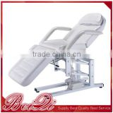 2016 cosmetic hydraulic facial bed spa table tattoo salon chair folding massage facial bed