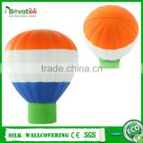 gift PU foam balloon stress toy hot air balloon