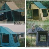 Outdoor polycotton maggiolina roof tent hard shell roof top tent