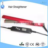 Personalized hair straightener hair flat iron with lcd displayer