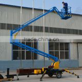 Actuation and Telescoping Lift Lift Mechanism Portable Lifter CRANK ARM TYPE LIFT PLATFORM