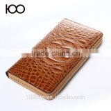 Unisex Men or Women Alligator Clutch 2016 fashion leather wallet in Guangzhou                                                                         Quality Choice