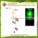 Butterfly wind chime wind bell with solar light                                                                         Quality Choice
