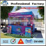 40mm/50mm hexagonal tube aluminum frame party shelter tent/shelter canopy custom printed for exhibition