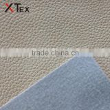 pvc coated printed embossed rexine fabric bonded with woven polyester fabric for sofa,automotive