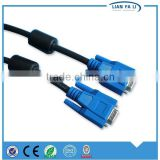 high speed vga to coaxial cable null modem vga cable type of vga cable