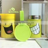 Smoldering pot PP food grade material 18/8 double wall stainless steel vacuum thermos takeaway food container 500ML