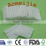 hot sale white sterile soft cotton pads in bag