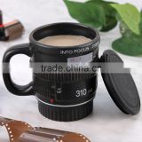 Camera Lens ceramic coffee mug,Lens ceramic coffee mug