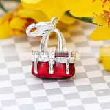 Wholesale New Design Fashion Handmade Handbag Charm Souvenir Pendant CM126