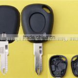 Best price Renault 1 button remote car key and auto key cover with battery holder