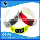 Self adhesive door entry tyvek paper wristbands bracelets                                                                         Quality Choice
