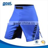 Sublimated printing split custom blank mma shorts
