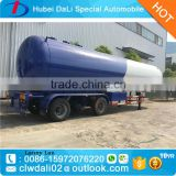 3 axle 44 cbm Fuwa Axle lpg tanker semi trailer propane lpg gas delivery truck trailers for sale                                                                                                         Supplier's Choice