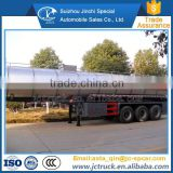 Top quality and best price of 12 wheels stainless steel crude oil tanker trailer manufacturer's price