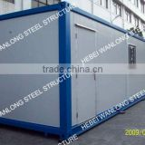 40ft container house in flat pack, best choice for temporary office, dormitory, meeting room...