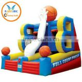 hot inflatable basketball/inflatable basketball hoop/basketball court for sale