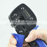 A2546 Solar Crimping Tool Kits(MC3/MC4 Crimper Sets) for MC3/MC4 PV cables with Stripping and Cutting