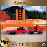 2015 new price for CIMC tri-axle low bed semi trailer