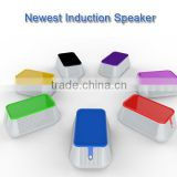 Wireless Audio Interaction Induction Speaker Smallest Wireless Magic Portable Speaker for iPhone Smartphone HTC Samsung