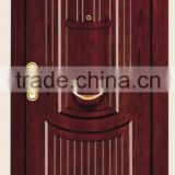 High quality Turkey steel wooden armored doors