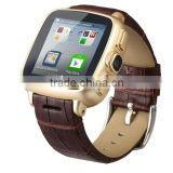 Original mobile Smart Watch Phone UI9 Waterproof Android 4.4 GPS Wifi MTK6572 Dual Core Bluetooth cell phones 3G