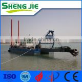 SJCSD200 Hydraulic Cutterhead Sand Suction Dredger Machine