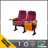 2016 competitive price hall chair floding chair red color Movie theater furniture auditorium chairs