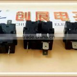 chzjcz/momentary Cooler rotary switch ,M12 diameter,2pins,mini round style Cooler rotary switchcam selector switch
