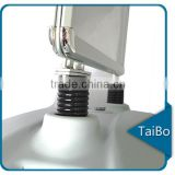 TB-HB-ZS1 China made double sided poster display stand, ABS base and aluminum poster stand